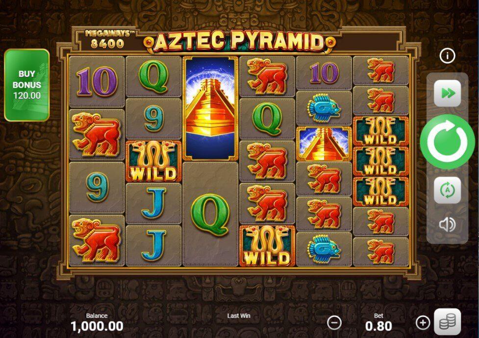 Aztec Pyramid Slot Booongo
