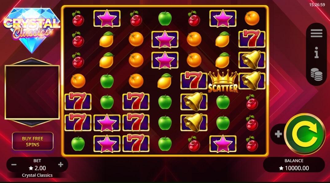 Crystal Classics Slot Booming Games
