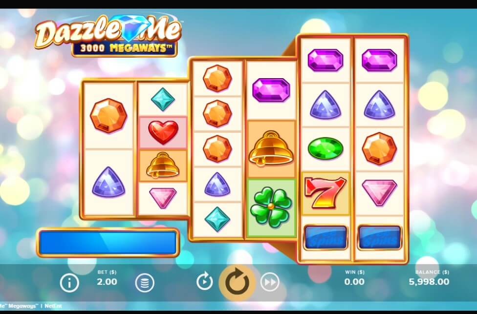 Dazzle Me Megaways Slot Netent
