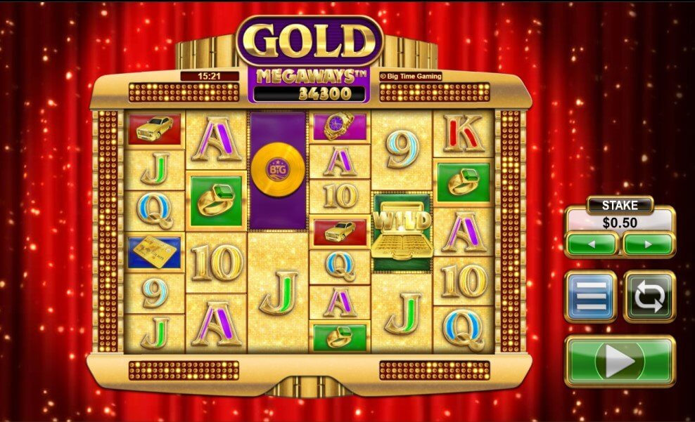 Gold Megaways Slot Big Time Gaming