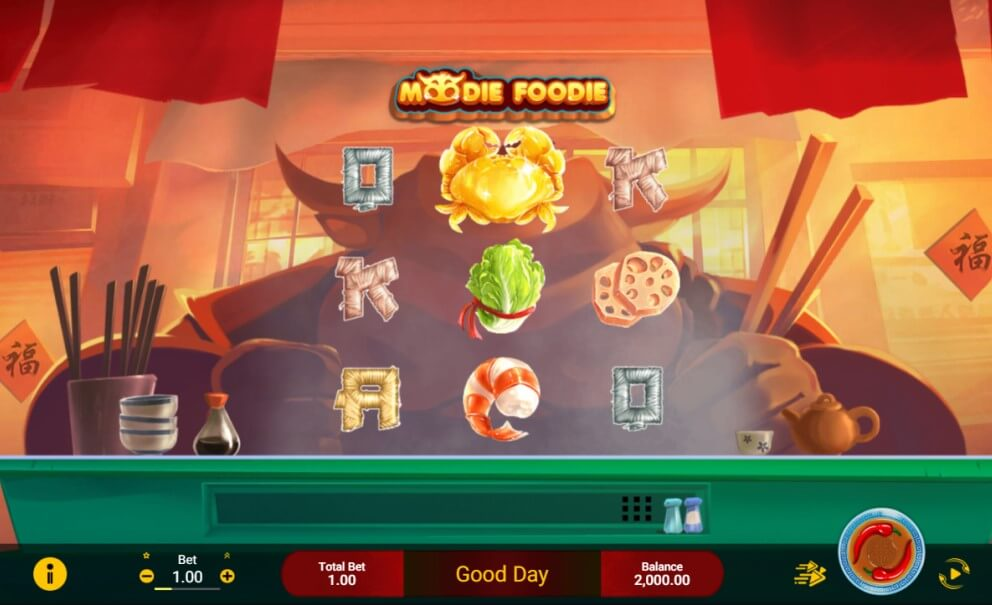 Moodie Foodie Slot Spadegaming